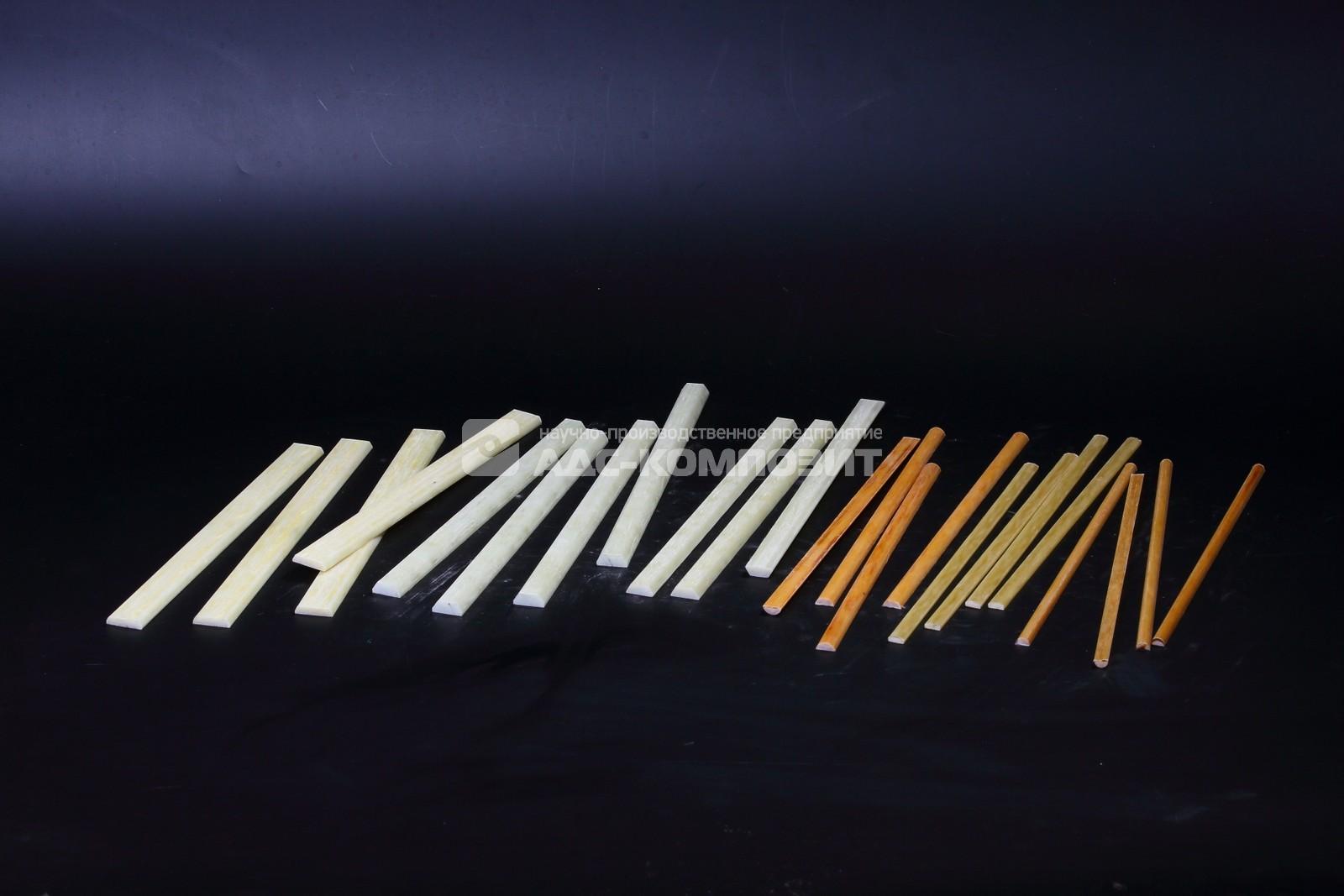 Стеклопластик профильный для электродвигателей (клин пазовый) марки СПП-ЭУ, СПП-БИД