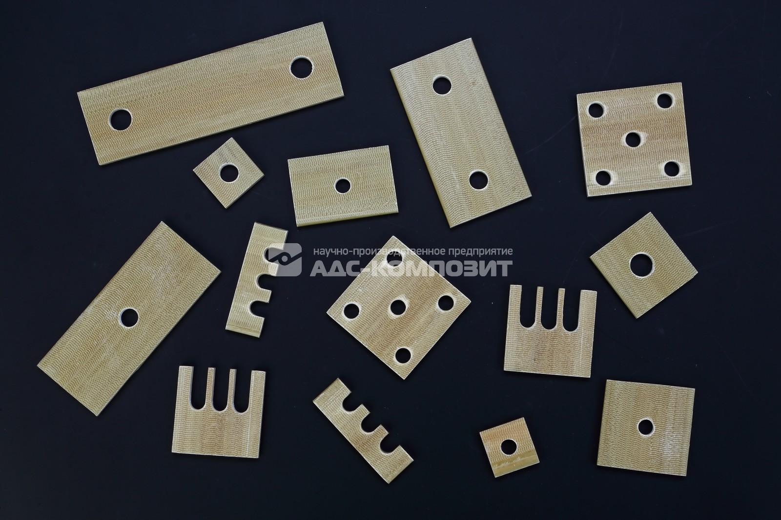 Изоляционные плиты, выравнивающие пластины и прокладки из стеклопластика марки СПП-ЭП-180(м)